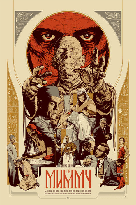The Mummy Martin Ansin poster