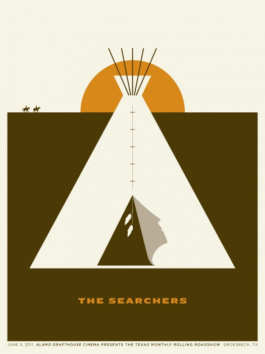 The Searchers Jason Munn poster