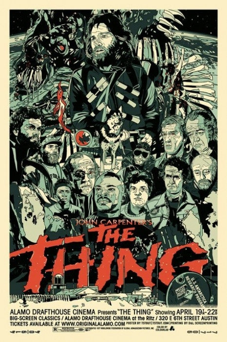 The Thing Tyler Stout poster