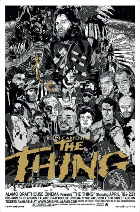 The Thing  Variant Tyler Stout poster