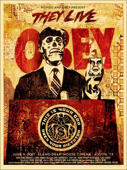 They Live Shepard Fairey poster
