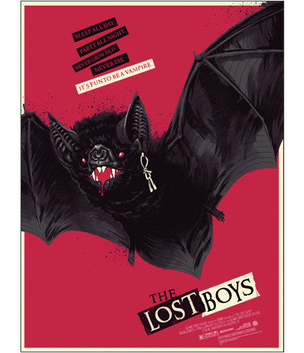 The Lost Boys   Red Bat Phantom City Creative poster