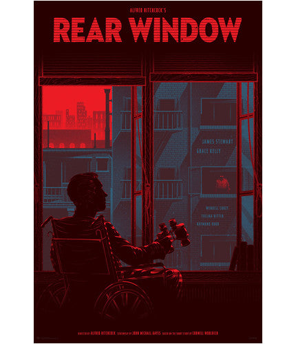 Rear Window Kevin Tong poster