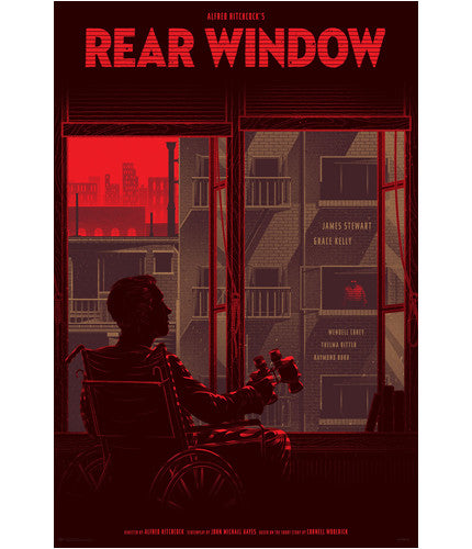 Rear Window Variant Kevin Tong poster