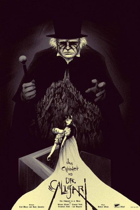 The Cabinet of Dr Caligari Kevin Tong poster