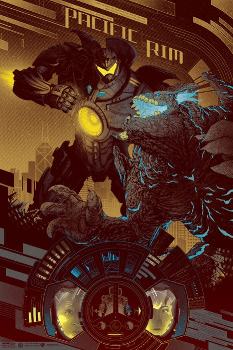 Pacific Rim - Variant-Kevin Tong-poster