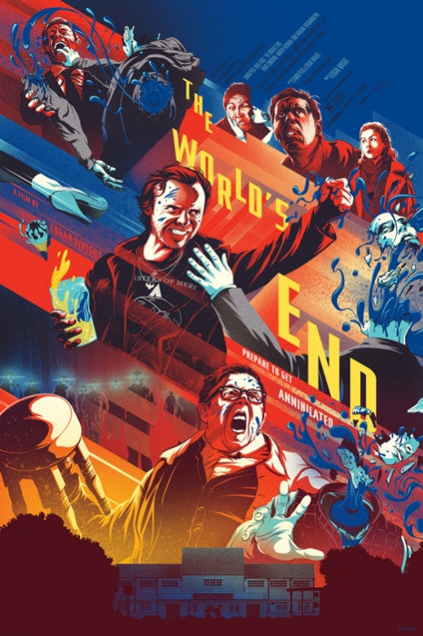 The Worlds End Kevin Tong poster