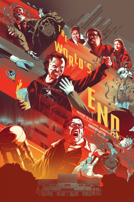 The Worlds End Variant Kevin Tong poster
