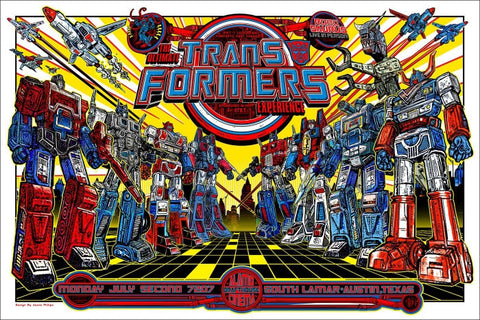 Transformers Jesse Philips poster
