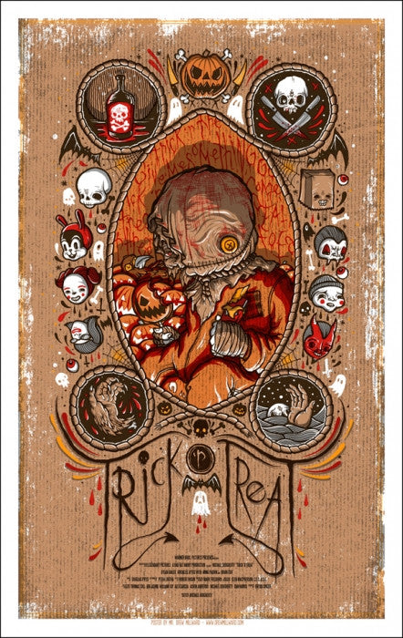 Trick R Treat Drew Milward poster
