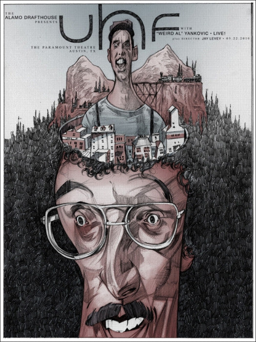 UHF Rich Kelly poster