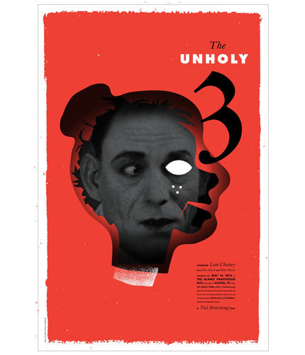 The Unholy Three Jeff Kleinsmith poster