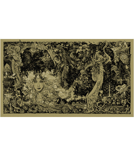 The Lord of the Rings   Green Colorway 3 Vania Zouravliov poster