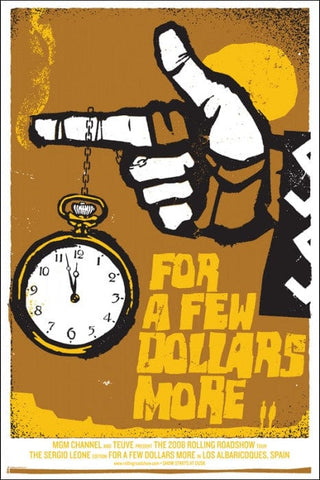 For A Few Dollars More Jay Vollmar poster