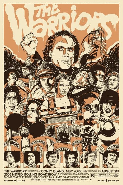 The Warriors Tyler Stout poster