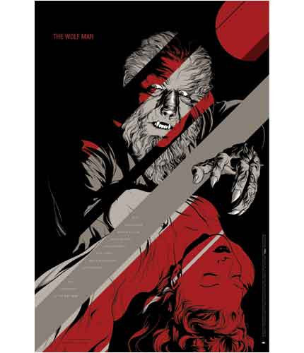 The Wolf Man  Ansin Martin Ansin poster