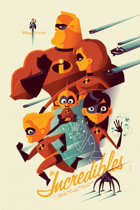The Incredibles Tom Whalen poster