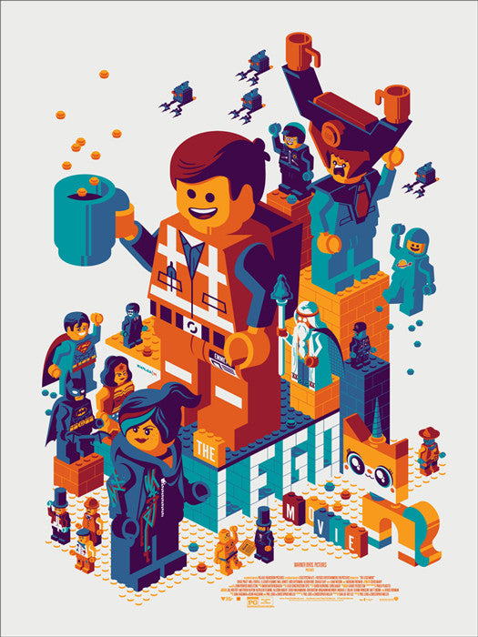 The Lego Movie Tom Whalen poster