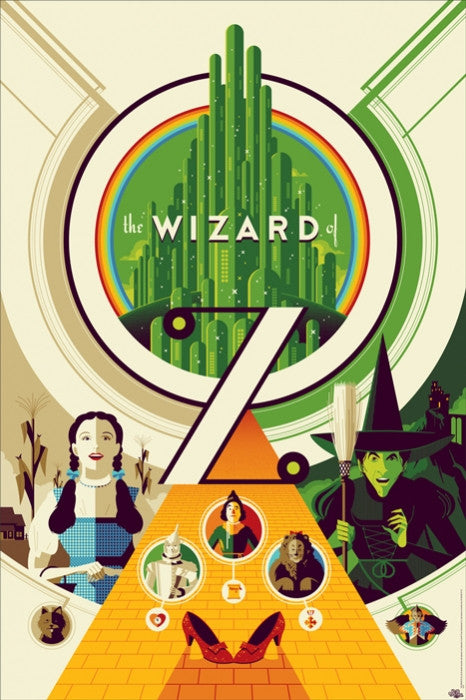 The Wizard of Oz Tom Whalen poster