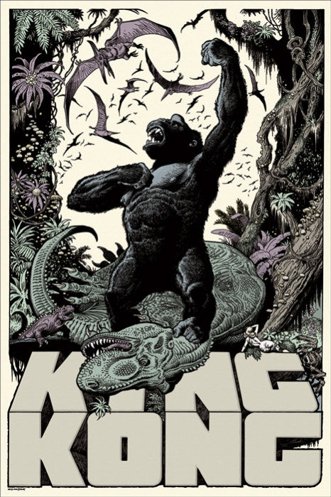 King Kong   William Stout William Stout poster