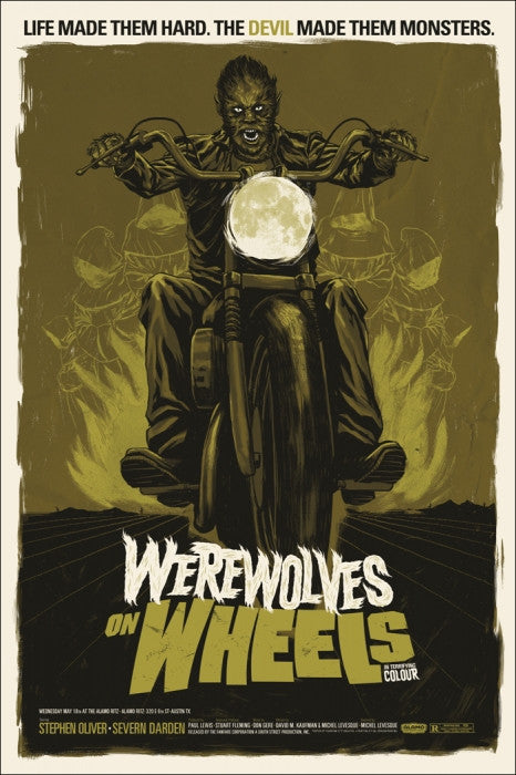 Werewolves on Wheels Phantom City Creative poster