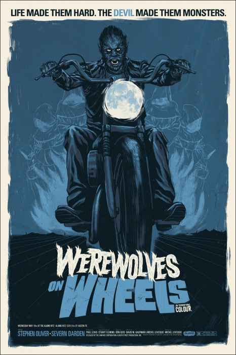 Werewolves on Wheels Variant Phantom City Creative poster