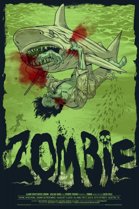 Zombie Jeff Proctor poster