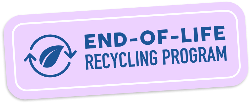 end-of-life recycling program