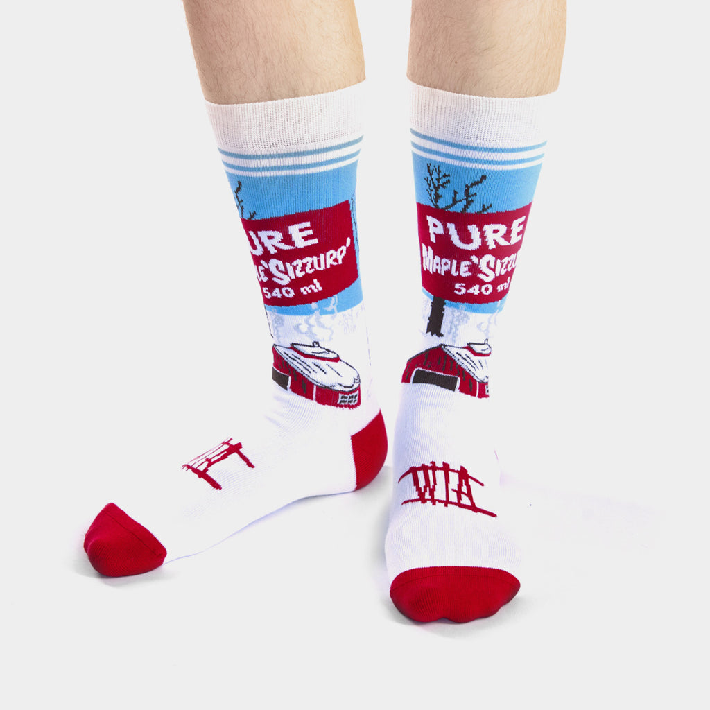 WHATISADAM - SUGAR SOCKS [SOLD OUT]||CHAUSSETTES D'ÉRABLE DE WHATISADAM