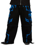 Dead Threads Cyber Trousers Blue TT-9564  - 3