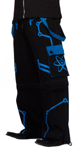 Dead Threads Cyber Trousers Blue TT-9564  - 1