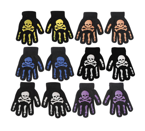 Skull and Bones Gloves