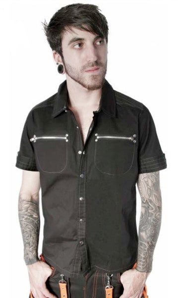 Dead Threads Black Cotton Shirt GS-1003  - 1