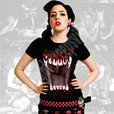 Vamp girls tshirt