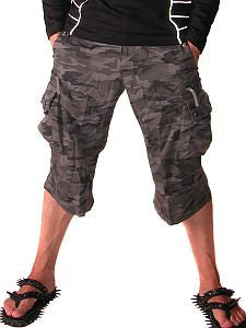 Queen of Darkness Camo Shorts
