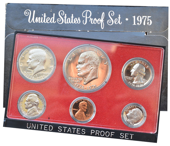 1975 United States Proof Set Coins