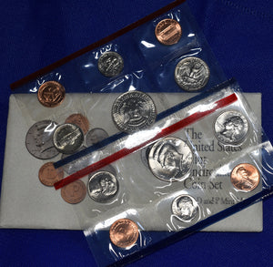 1992 US Mint Set P&D 10 Uncirculated Coins