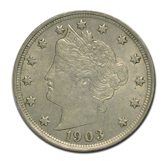 1903 Liberty 5¢ Cent Coin