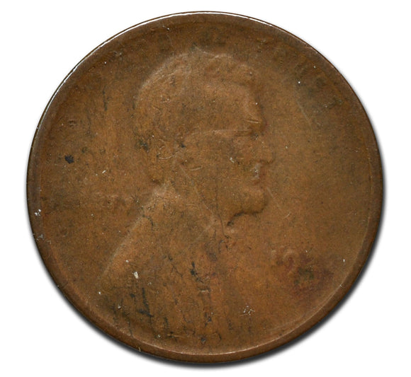 1922D Weak D Semi Key Date Lincoln 1¢ Cent Coin
