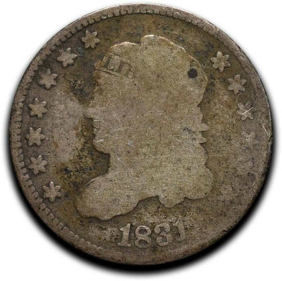 1831 Silver Bust Half Dime 5¢ Coin Lot# A 522
