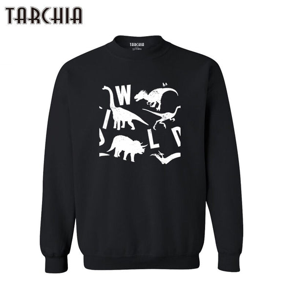 TARCHIA 2021 Wild Animal Zoo Sportwear Hoodies Mens Long Sleeve Casual Sweatshirts Autumn Outerwear Men Hoodies Pullover Cotton