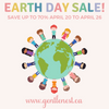 2018 Earth Week Sale!