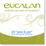 Eucalan On the Go Care - Lint Remover Sheets