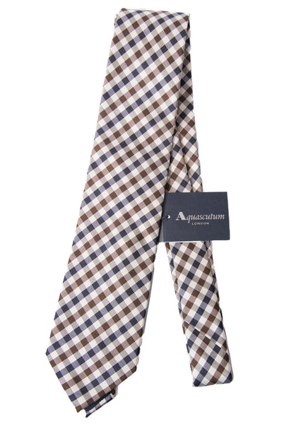 Aquascutum of London Cravatta Club Check