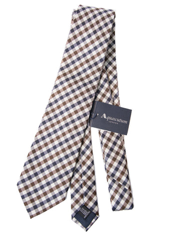 Aquascutum of London Official Club Check Tie