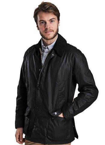 Barbour Ashby Nero Giubbotto
