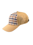Aquascutum of London Cappello Visiera Club Check Beige