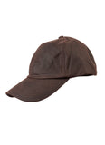 Barbour Cappello Visiera Cerato Marrone