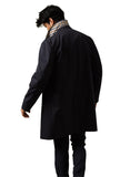Aquascutum of London Trench Broadgate Navy Blue - menINOUTfit.com  - 2
