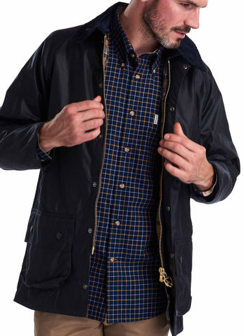 Barbour Beaufort Blu Giubbotto